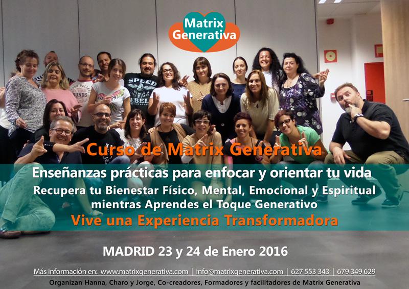 Curso de Matrix Generativa Madrid